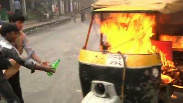 Violence in Dhaka