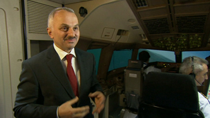 Chief Executive of Turkish Airlines, Temel Kotil