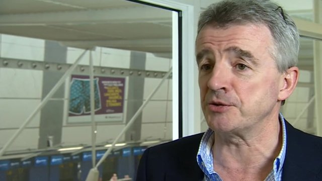Ryanair's Michael O'Leary