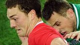 Brian O'Driscoll and George North