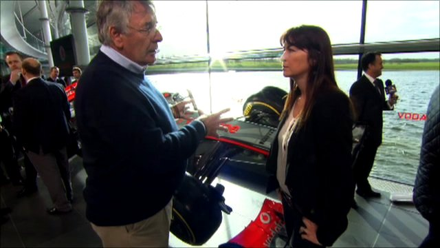 Gary Anderson and Suzi Perry
