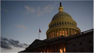 US Capitol in Washington DC (30 Dec 2012)