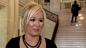 Agriculture Minister Michelle O'Neill said she is content with her decision.
