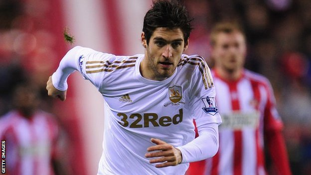 Danny Graham's last game for Swansea