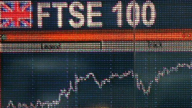 FTSE 100 graph