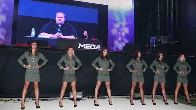 Kim DotCom launches new file-sharing service