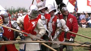 Re-enactment at Bosworth