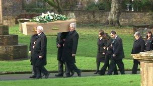 Catherine Wells-Burr funeral