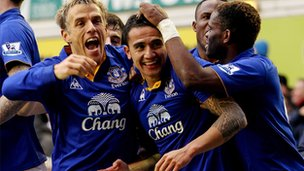 Everton footballers