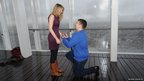 James Episcopou proposes to his girlfriend Laura Taylor