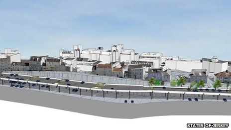 Plan for Snow Hill car park