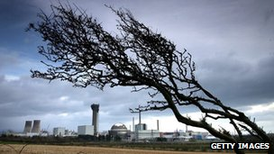 Sellafield nuclear reprocessing plant