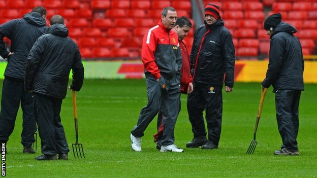 Old Trafford pitch