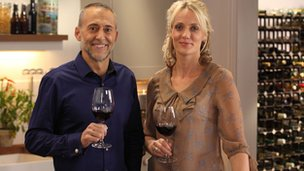 Michel Roux Jnr and Kate Goodman