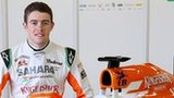 The new Force India VJM06 car