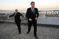 Prime Minister David Cameron visits the Monument des Martyrs on his arrival in Algiers