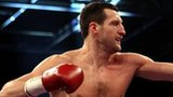 Carl Froch fighting Mikkel Kessler