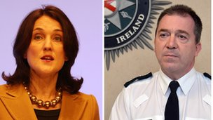 Theresa Villiers and PSNI