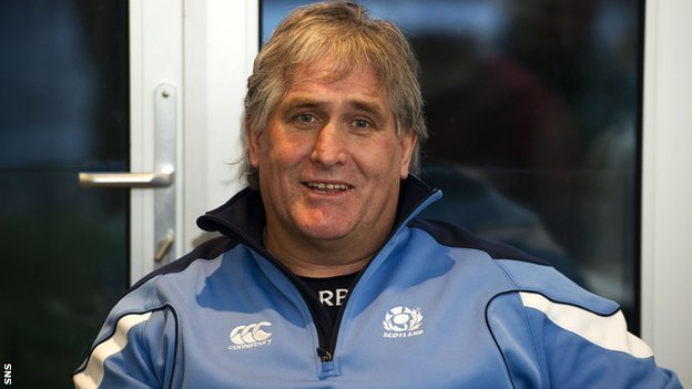 Scotland interim coach Scott Johnson