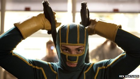 Scene from the film Kick-Ass