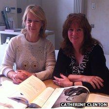 Catherine Clinton and Joanna Johnston