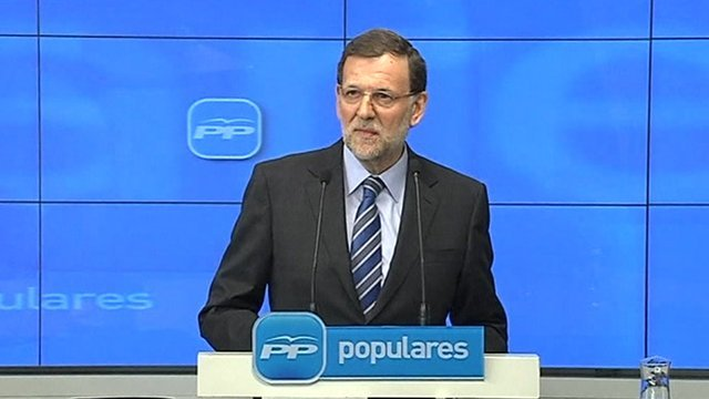 Spanish Prime Minister Mariano Rajoy