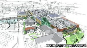 Neath redevelopment
