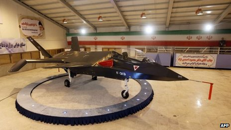 Iran stealth fighter