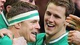 Brian O'Driscoll and Craig Gilroy