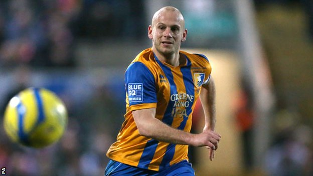 Mansfield Town's Adam Murray