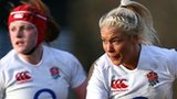 Sally Tuson scored two tries for England