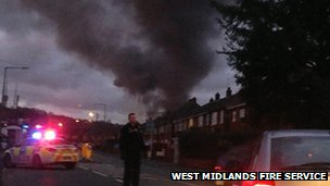 Fire in Rowley Regis