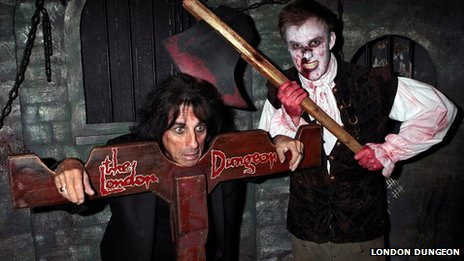 Alice Cooper in stocks
