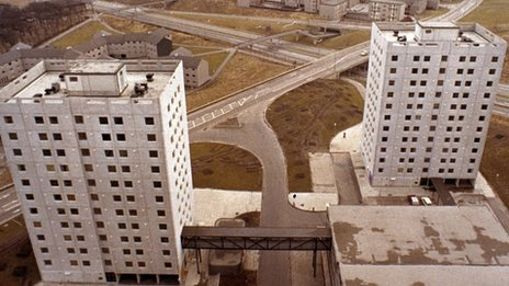 Cumbernauld tower blocks