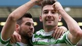 Celtic players Joe Ledley and Charlie Mulgrew