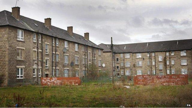 Housing in Govan