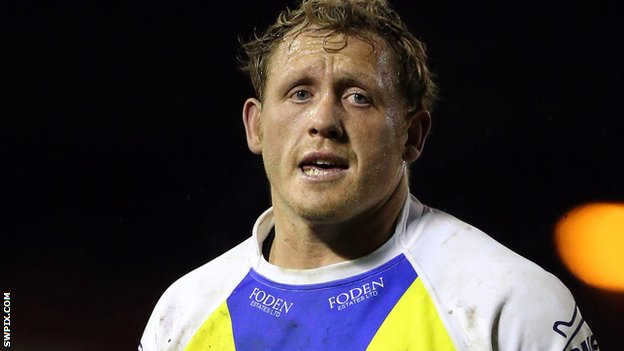 Warrington Wolves forward Ben Westwood
