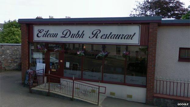 Eilean Dubh Restaurant in Fortrose