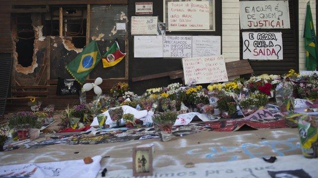 Memorial in Brazil