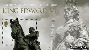 King Edward VII stamps