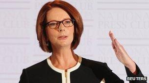 Australian PM Julia Gillard at the NPC Canberra (30 Jan 2013)