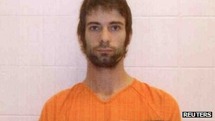 Eddie Ray Routh in photo handed out by Erath County Sheriff's office on 3/2/12