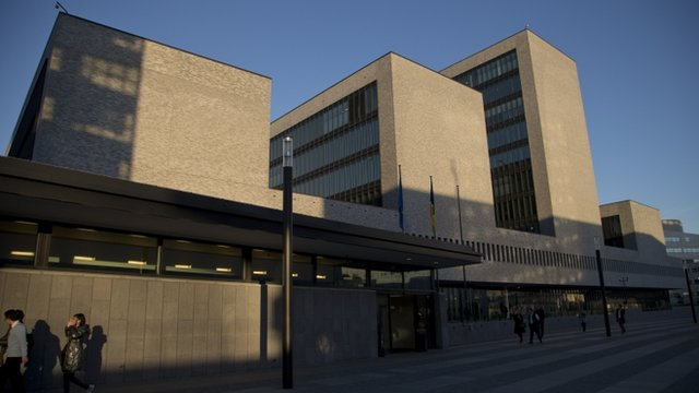 Headquarters of the EU police unit Europol in The Netherlands