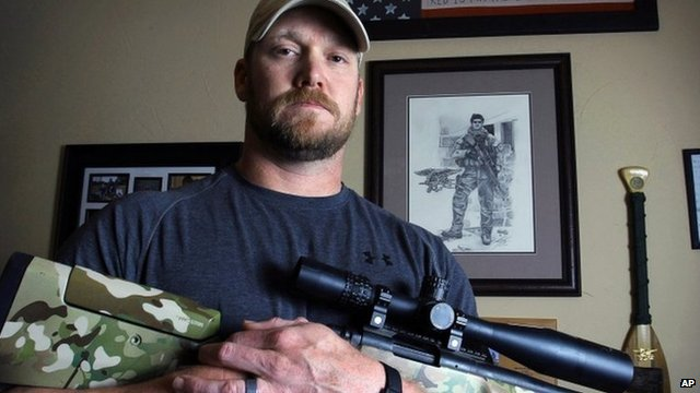 Chris Kyle - April 2012