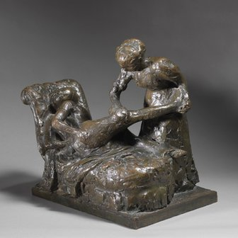 La Masseuse (The Masseuse) by Edgar Degas