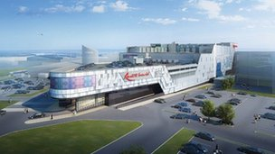 Artist's impression of new casino