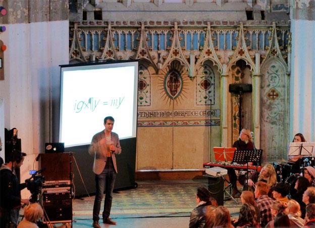 Sunday Assembly, photo taken by attendee