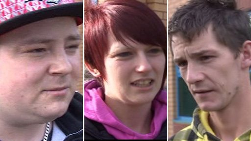 Young people in Ammanford