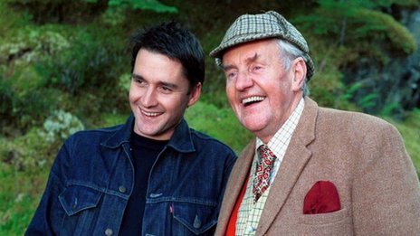 Richard Briers in Monarch of the Glen
