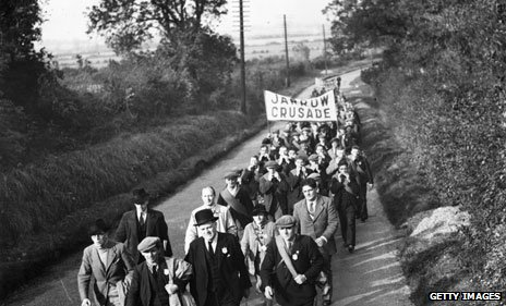 Jarrow Crusade in 1936
